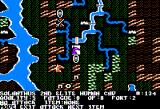 War of the Lance Apple II Game map