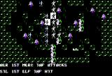 War of the Lance Apple II Combat