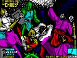 Lords of Chaos ZX Spectrum Title screen