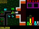 Lords of Chaos ZX Spectrum Exploring the first level
