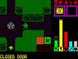 Lords of Chaos ZX Spectrum Exploring the 2nd level with a summoned troll