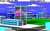 Police Quest 2: The Vengeance DOS Steelton PD building.