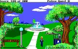 Police Quest 2: The Vengeance DOS Burt Park.