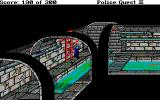 Police Quest 2: The Vengeance DOS Underground in the sewer system.