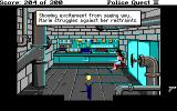 Police Quest 2: The Vengeance DOS Marie has been tied up by Bains.