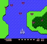 Gall Force: Eternal Story NES Flying over water