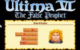 Ultima VI: The False Prophet DOS Character Creation