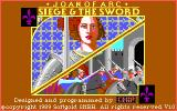 Joan of Arc: Siege & the Sword DOS Title screen