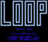 Meteor Blaster DX TurboGrafx CD Loop: title screen