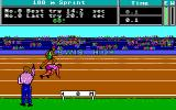 Carl Lewis' Go for the Gold  DOS 100m sprint