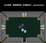 Adian no Tsue NES Attacking an enemy