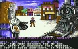 Law of the West Commodore 64 trainyard screenshot 1