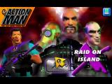 Action Man: Raid on Island X Windows The video sequence is followed by the game's title screen