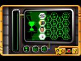 Action Man: Raid on Island X Windows The bookshelf in the base/game menu gives the player access to the secret room in which clues and trophies accumulated in the game can be viewed