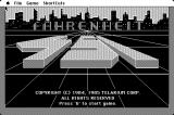 Fahrenheit 451 Macintosh Title screen