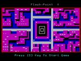 Flash Point Videopac+ G7400 Title screen.