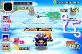 Konami Krazy Racers Game Boy Advance Road in the sky