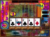 Vegas Games 2000 Windows Video Poker: The Deuces Wild game