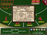 Vegas Games 2000 Windows In addition to having the usual Strategy/Tips screen Baccarat has this useful rules summary