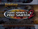 Tony Hawk's Pro Skater 2 PlayStation Title screen
