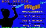 Psycho Atari ST Title screen 2