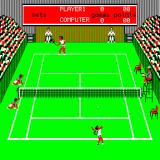 Tournament Tennis Sinclair QL First serve