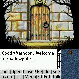 Shadowgate Classic Palm OS Game start