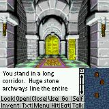 Shadowgate Classic Palm OS In the castle