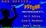 Psycho Amiga Title screen 2