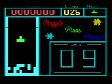 "Puzzle Piece Panic! Videopac+ G7400 A ""D"" game started in level 9."
