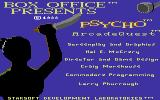 Psycho Commodore 64 Title screen 2
