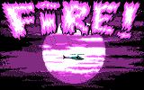Fire! DOS Title (CGA)