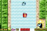 Kirby: Nightmare in Dreamland Game Boy Advance Falling on the waterfall