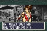 The King of Fighters EX: Neo Blood Game Boy Advance Mai wins