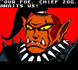 Warlocked Game Boy Color Chief Zog - intro