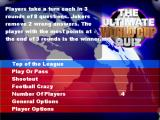 The Ultimate World Cup Quiz PlayStation 2 Main menu