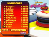 Moorhuhn: Pinball Windows High-Score Table ... notice I'm first and ... 8th (Player1)