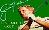 Jack Nicklaus' Unlimited Golf & Course Design DOS Title screen (MCGA/VGA)