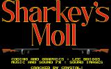 Sharkey's Moll Amiga Title screen.