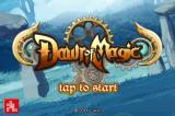 Dawn of Magic iPhone Title screen