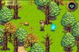 Dawn of Magic iPhone There are no random encounters in this game, and all enemies can be seen while wandering the lands. They are always represented by floating blue flames, no matter which type of enemy it is.