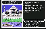 Where in the World is Carmen Sandiego? Commodore 64 Istanbul