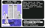 Where in the World is Carmen Sandiego? Commodore 64 New York