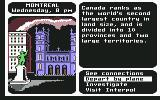 Where in the World is Carmen Sandiego? Commodore 64 Montreal