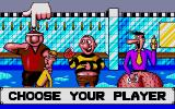 Viz: The Game Atari ST Choose your character.