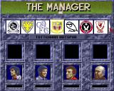 The Manager Amiga Choose your team.