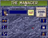 The Manager Amiga Main Menu.