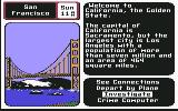 Where in the U.S.A. is Carmen Sandiego? Commodore 64 San Francisco