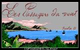 Passengers on the Wind II DOS Title Screen.