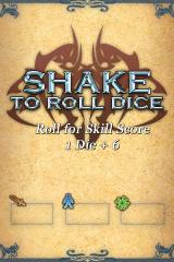 "Fighting Fantasy: Deathtrap Dungeon iPhone Go on, ""roll"" the ""dice"""